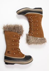 Sorel - JOAN OF ARCTIC - Zimní obuv - camel brown/black - 3