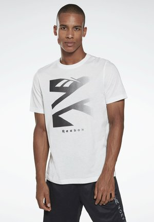 VECTOR GRAPHIC SERIES ELEMENTS - Print T-shirt - white