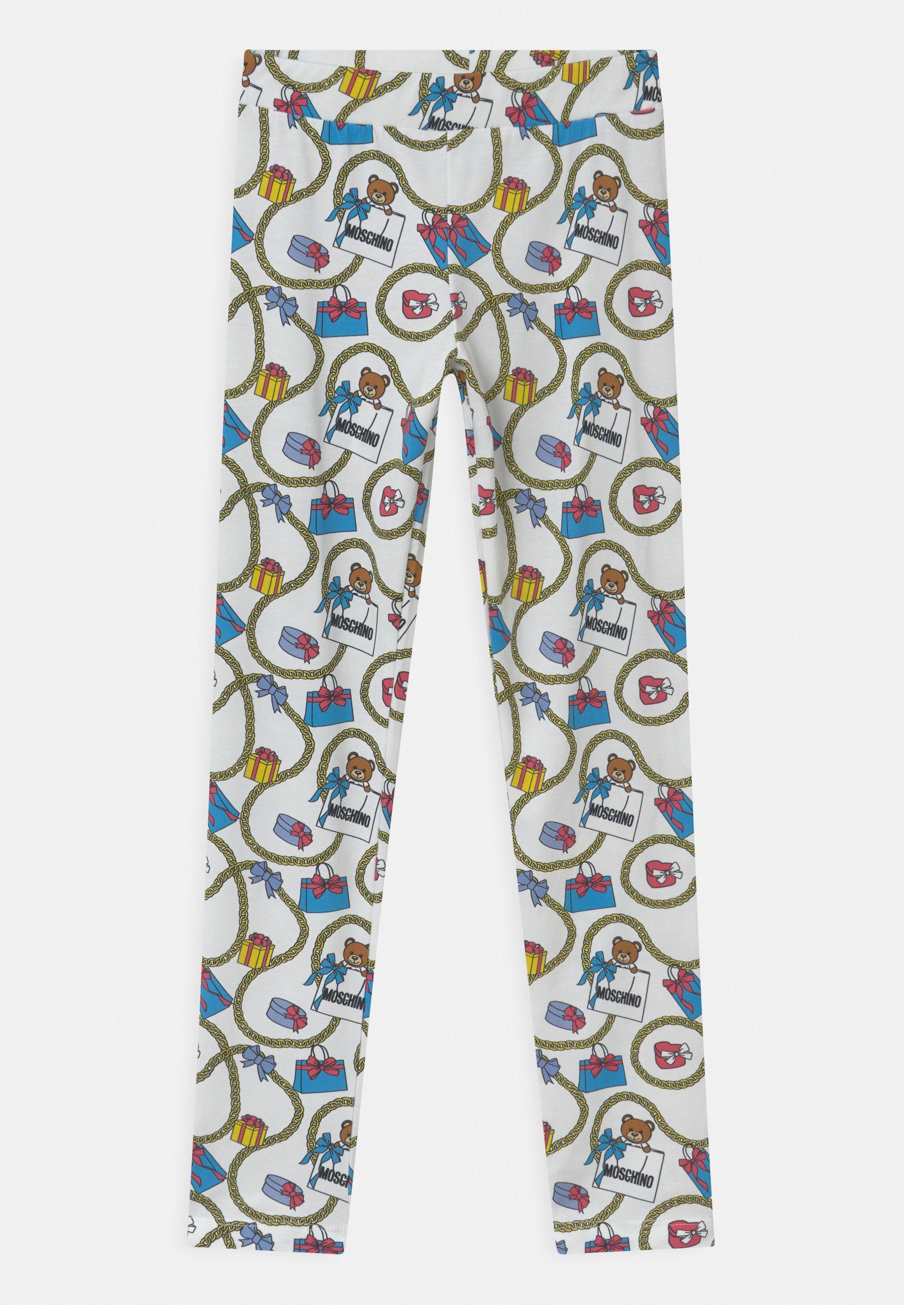 Kids Leggings - Trousers - white