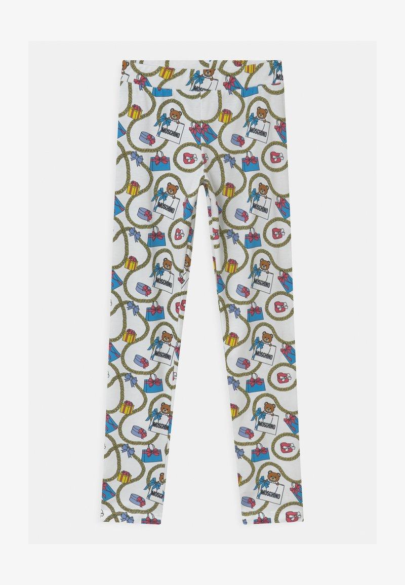 MOSCHINO - Leggings - Trousers - white