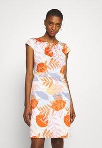 More & More - DRESS SHORT - Cocktail dress / Party dress - melon multicolor - 0