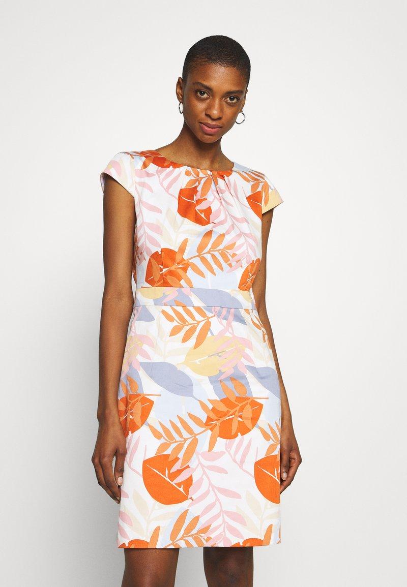 More & More - DRESS SHORT - Cocktail dress / Party dress - melon multicolor
