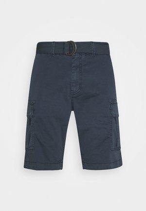 WITH BELT - Shorts - deep navy