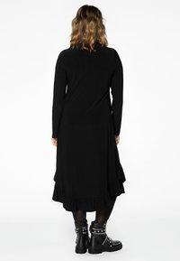 Yoek - Shirt dress - black - 2