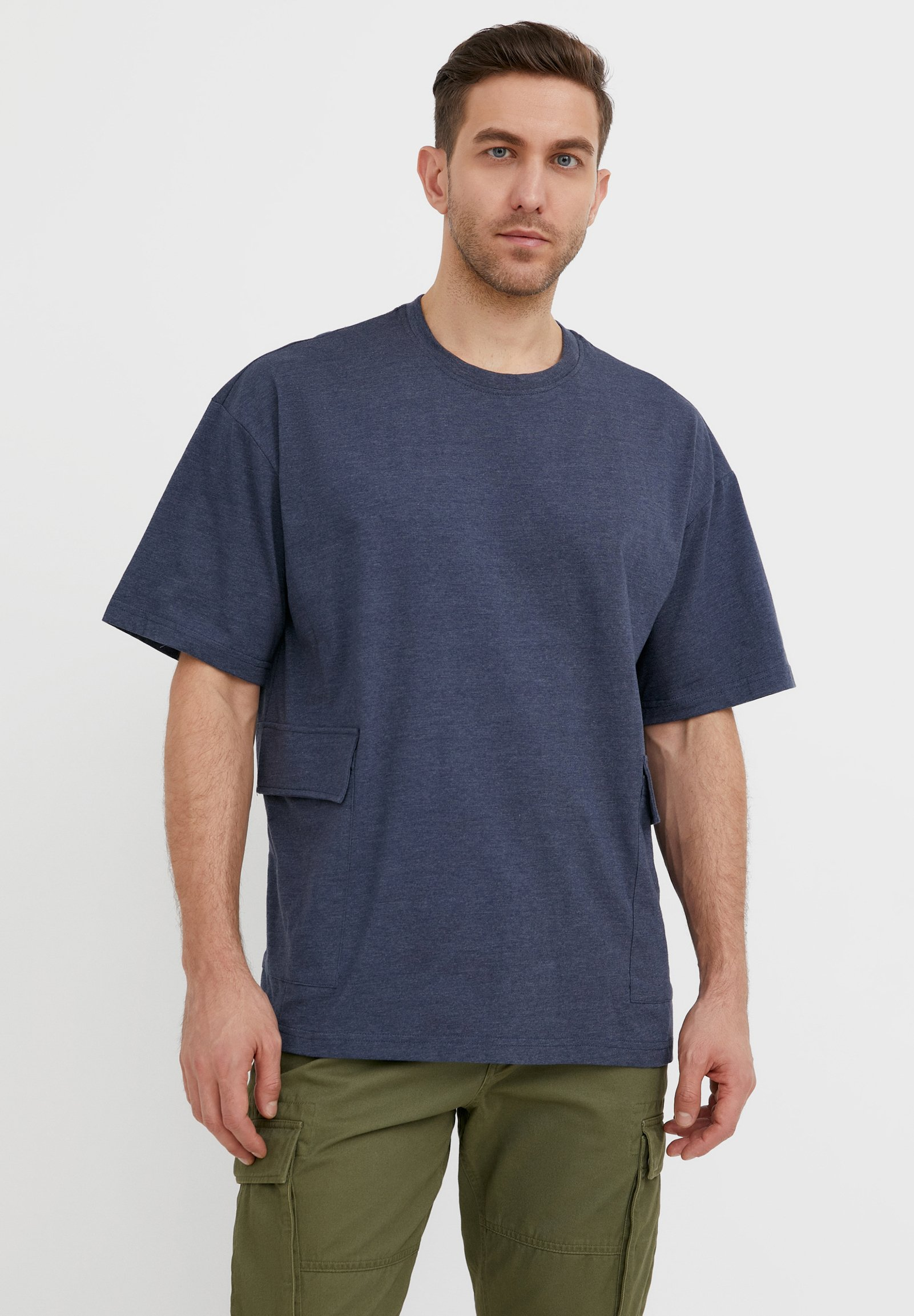 Homme RUNDHALS - T-shirt basique