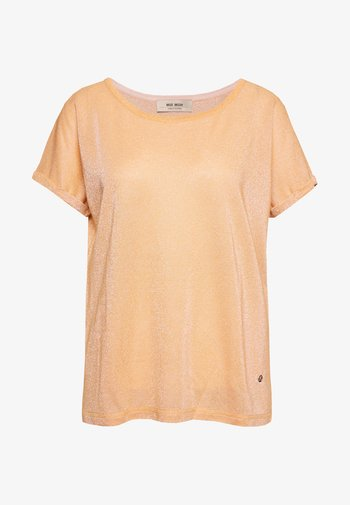 KAY TEE - Basic T-shirt - peach cobbler