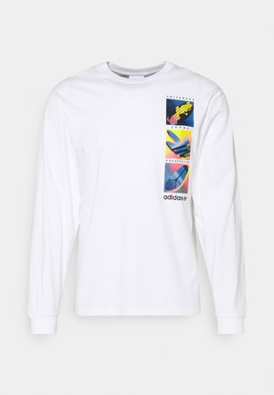 SUMMER ICONS - Long sleeved top - white