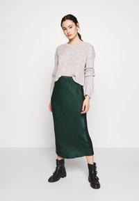New Look - BASIC - Jersey de punto - light grey - 1