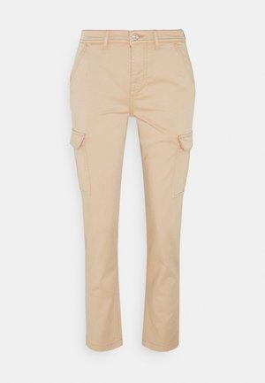 Cargo trousers - beige