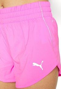 Puma - IGNITE SHORT - Pantalón corto de deporte - luminous pink - 5