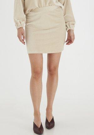 Mini skirt - oatmeal