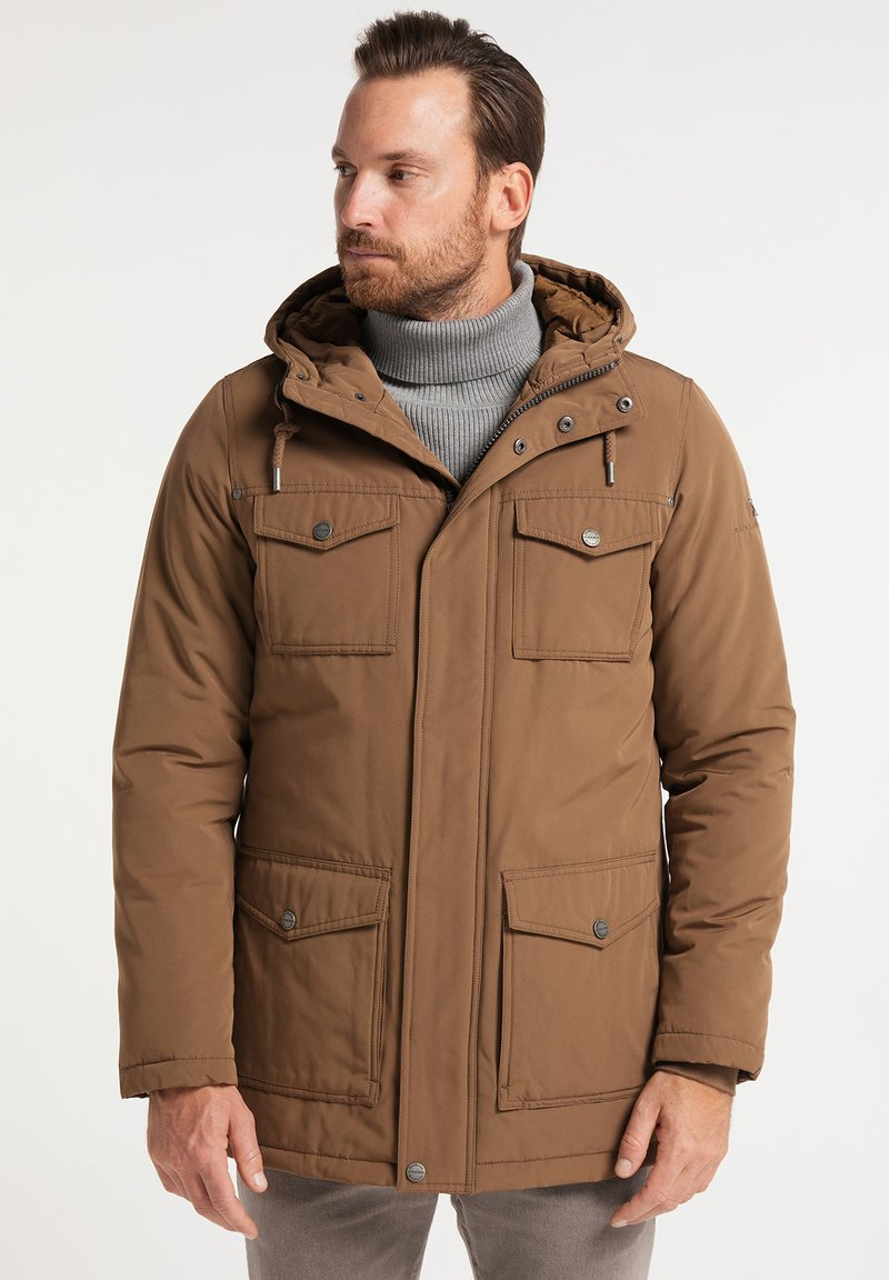 DreiMaster - Winter jacket - dunkelbeige