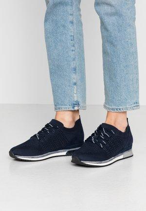 LACE UP - Sneakersy niskie - navy