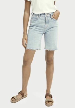 Denim shorts - powder blue