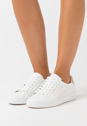 IRVING STRIPE LACE UP - Sneakers laag - optic white