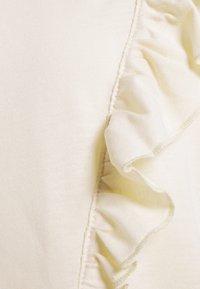 JDY - JDYKAREN FROSTY FRILL - Print T-shirt - beige - 2
