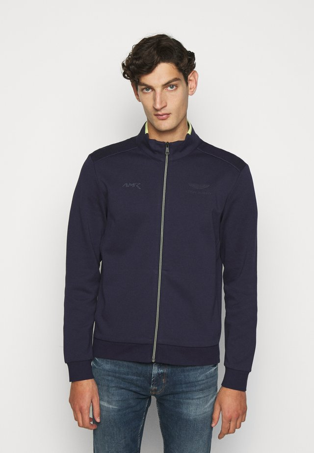 AMR FULL ZIP - Strickjacke - navy