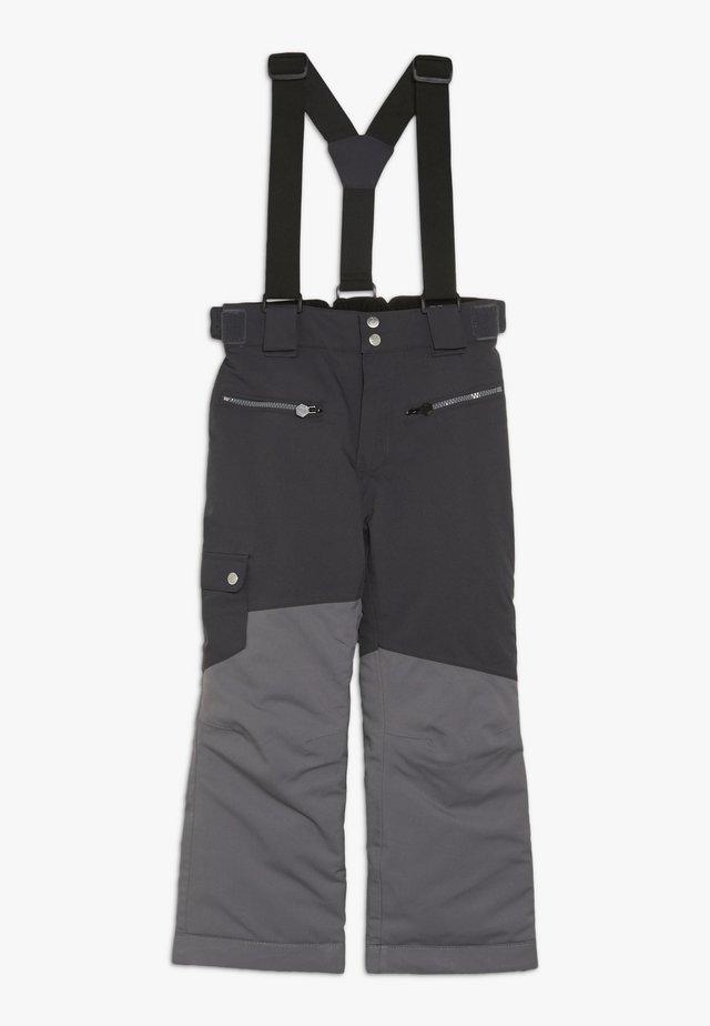 TIMEOUT PANT - Pantalón de nieve - ebony/algrey
