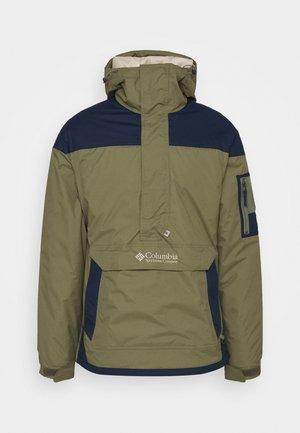 CHALLENGER - Winter jacket - stone green/collegiate navy