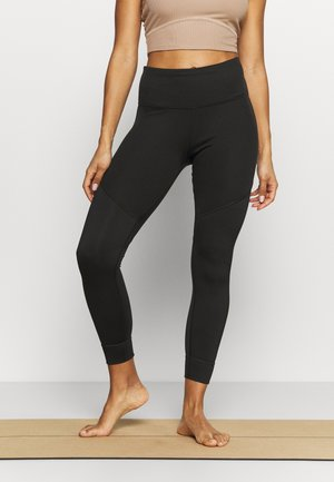 STUDIO HIGH WAIST 7/8 - Medias - black