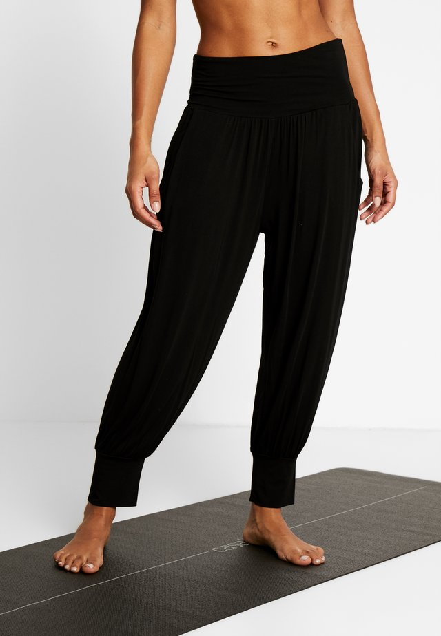 PANTALONE ODALISCA - Trainingsbroek - black