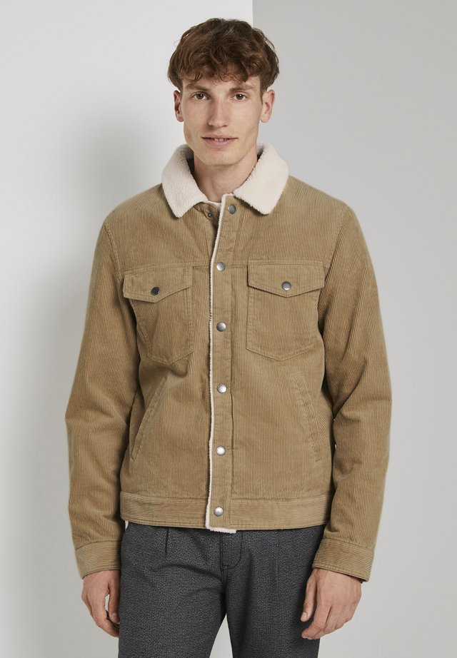 Light jacket - smoked beige