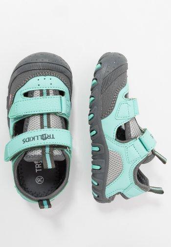 KIDS LILLESAND UNISEX - Walking sandals - mint