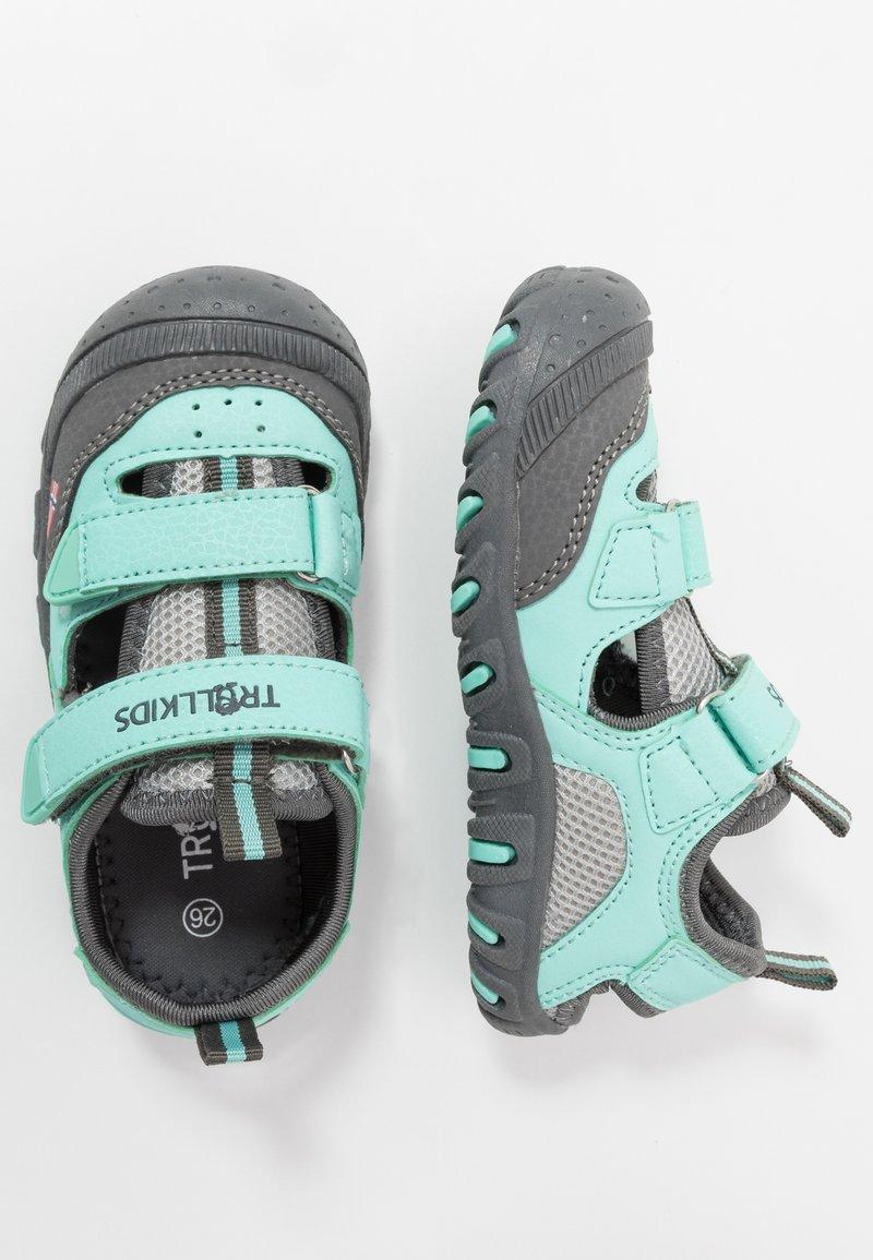 TrollKids - KIDS LILLESAND UNISEX - Walking sandals - mint