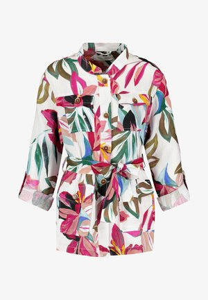 3/4 SLEEVE - Summer jacket - ecru/weiss/lila/pink multicolo