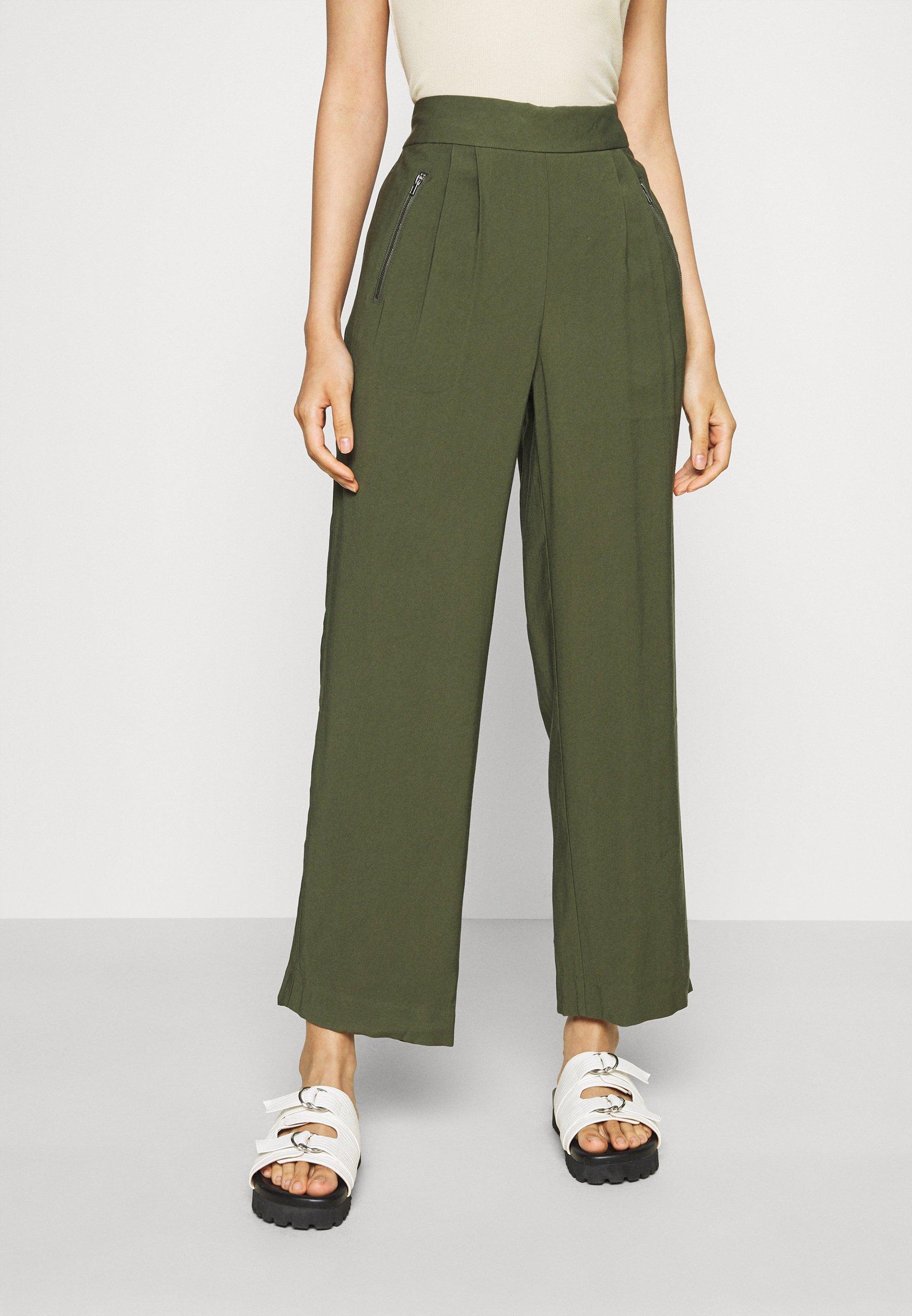 Femme JDYSALOMWWIDE PANT - Pantalon classique