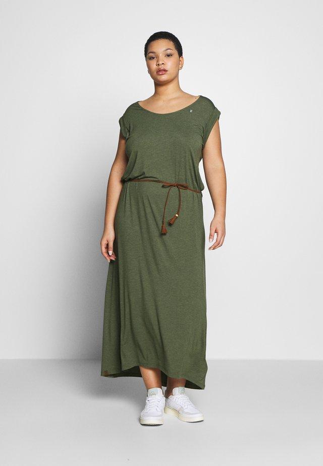 Robe longue - olive
