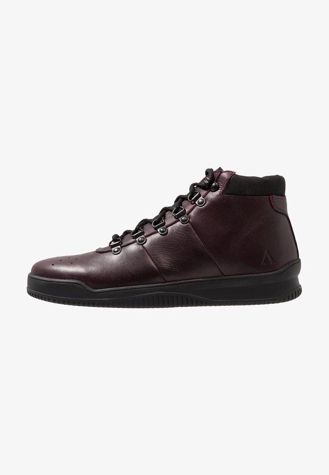 VIRGO - Sneakersy wysokie - wine red