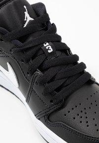 Jordan - AIR 1  - Trainers - black/white - 2