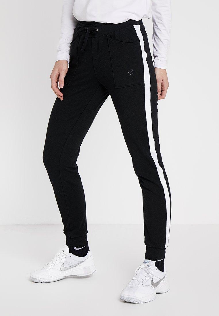 Limited Sports - SWEATPANT SAMU - Tracksuit bottoms - black/white