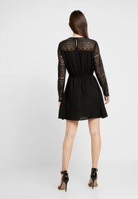 ONLY - ONLDEMI SHORT DRESS - Robe d'été - black - 2