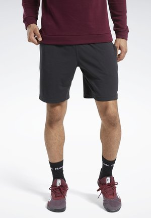 TRAINING ESSENTIALS SHORTS - Sports shorts - black