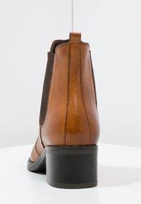 Pier One - Classic ankle boots - cognac - 4