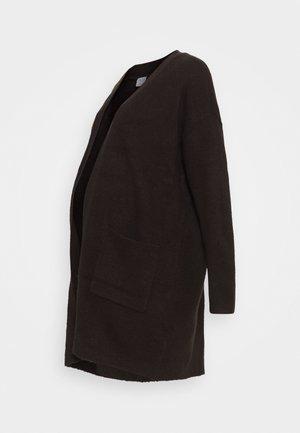 PCMBIANCA LONG CARDIGAN - Cardigan - mole
