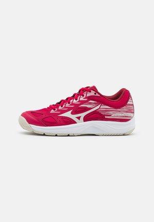 STAR JUNIOR UNISEX - Handball shoes - persian red/white sand/biking red
