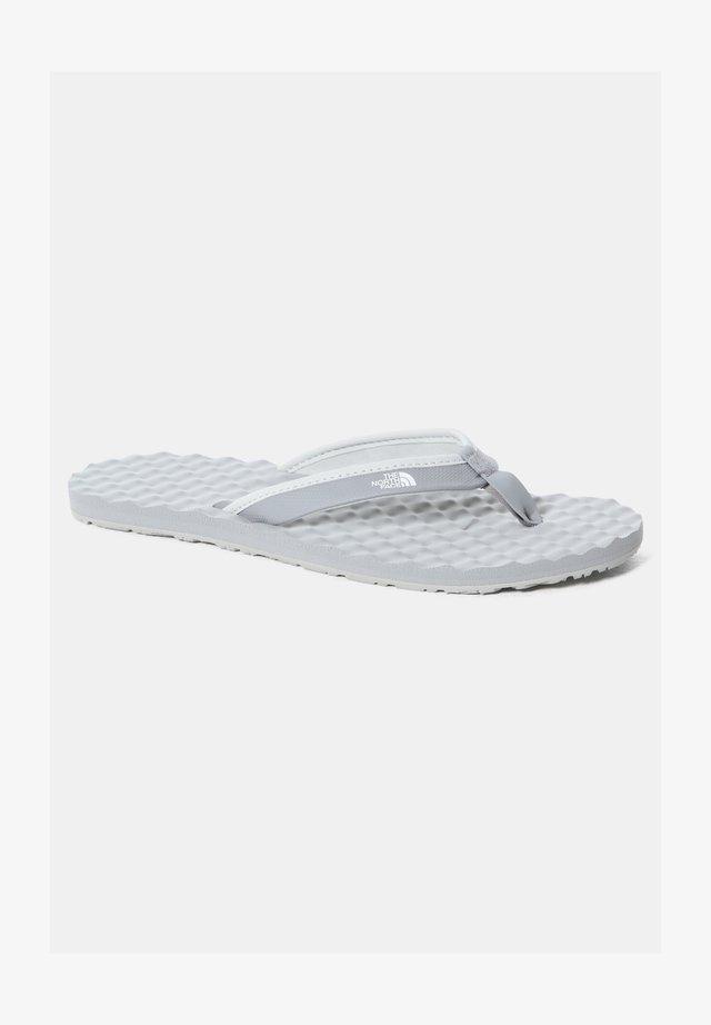 W BASE CAMP MINI II - Sandalias de dedo - meld grey/tnf white
