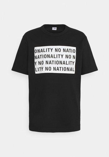 BAKER - T-shirt med print - black