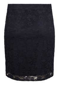Zizzi - Pleated skirt - blue - 5