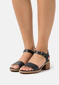 Timberland - LAGUNA SHORE MID HEEL - Sandals - black - 0