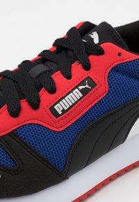 Puma - Sneakers basse - limoges/black/high risk red - 5