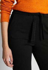 ONLY Tall - ONLPOPTRASH BELT PANT - Trousers - black - 5