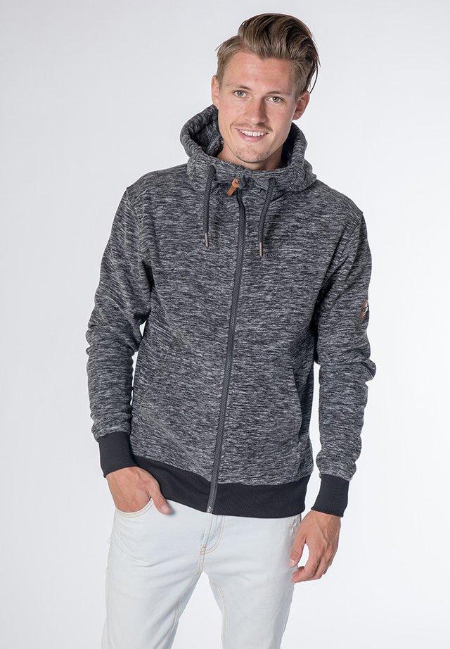 FREDDY - Fleece jacket - black