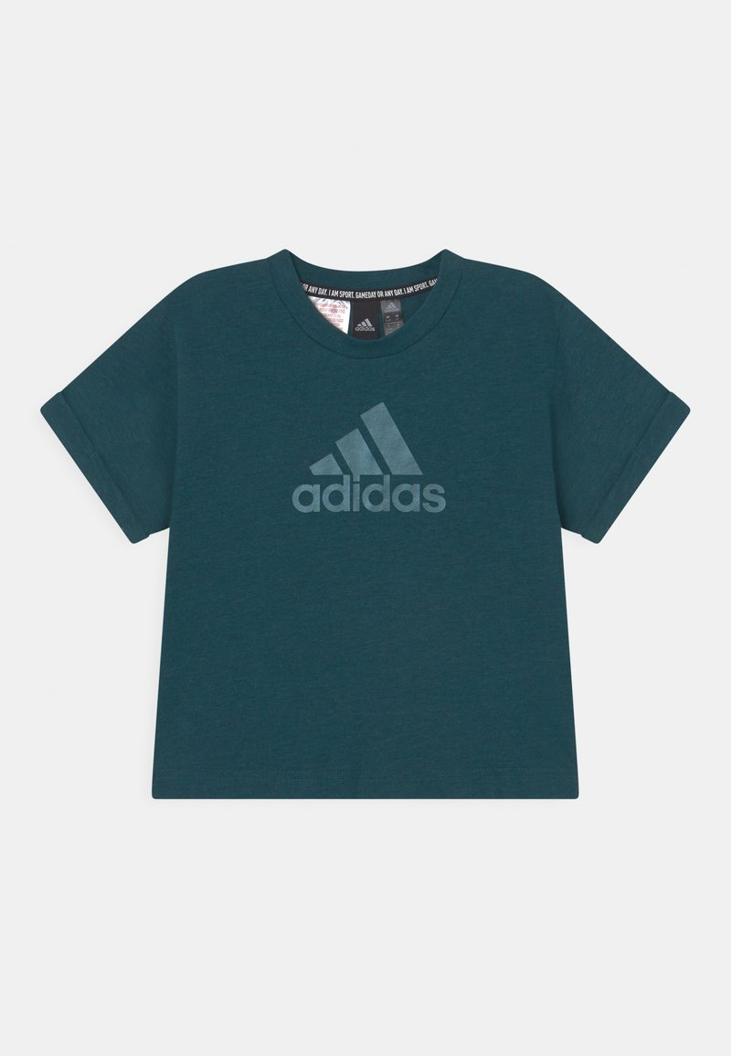 adidas Performance - TEE - T-Shirt print - teal/mint