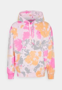 Obey Clothing - SUSTAINABLE TIE DYE FLEECE - Sweatshirt - yellow multi - 0