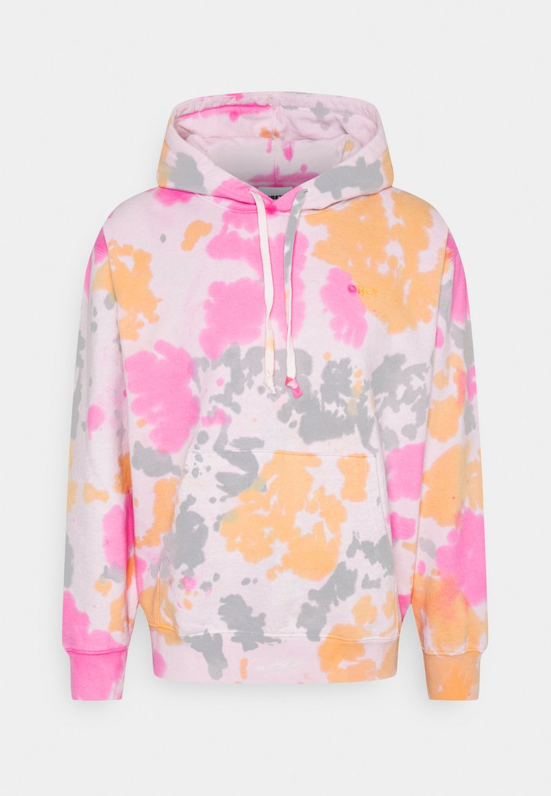 Obey Clothing - SUSTAINABLE TIE DYE FLEECE - Sweatshirt - yellow multi