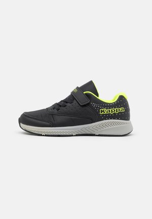 MAUN UNISEX - Sports shoes - black/lime